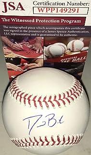 d8c488d65a8 David Bote Chicago Cubs Autographed Signed Official Major League Baseball  JSA WITNESS COA