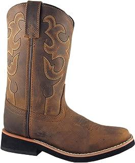 Smoky Girls Wisteria Double Fringe Tan Western Boot