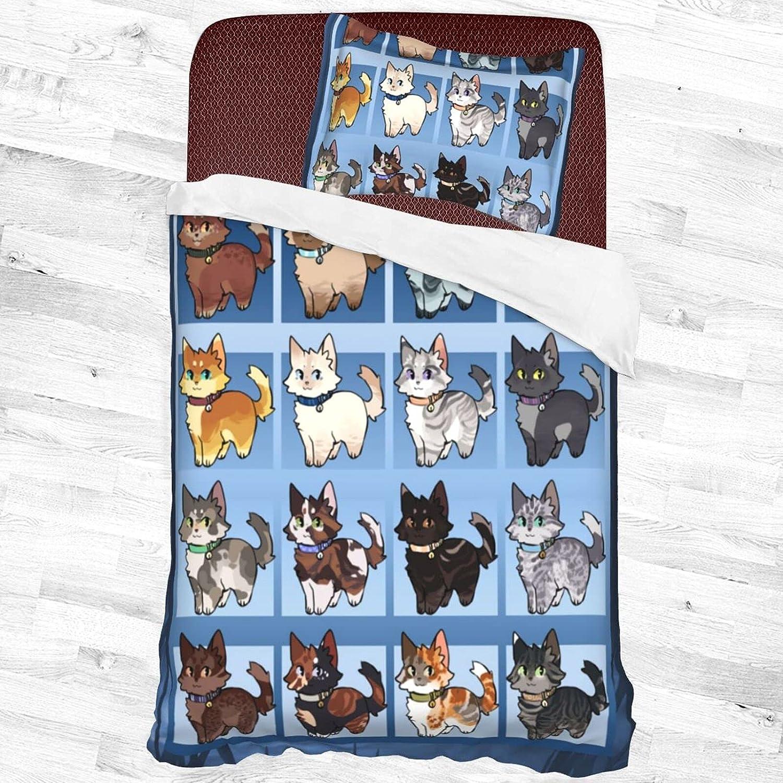 security Wa.Rr.Iors Cats Decorative 2 Piece Bedding Pillow with Set 1 Inexpensive Sha