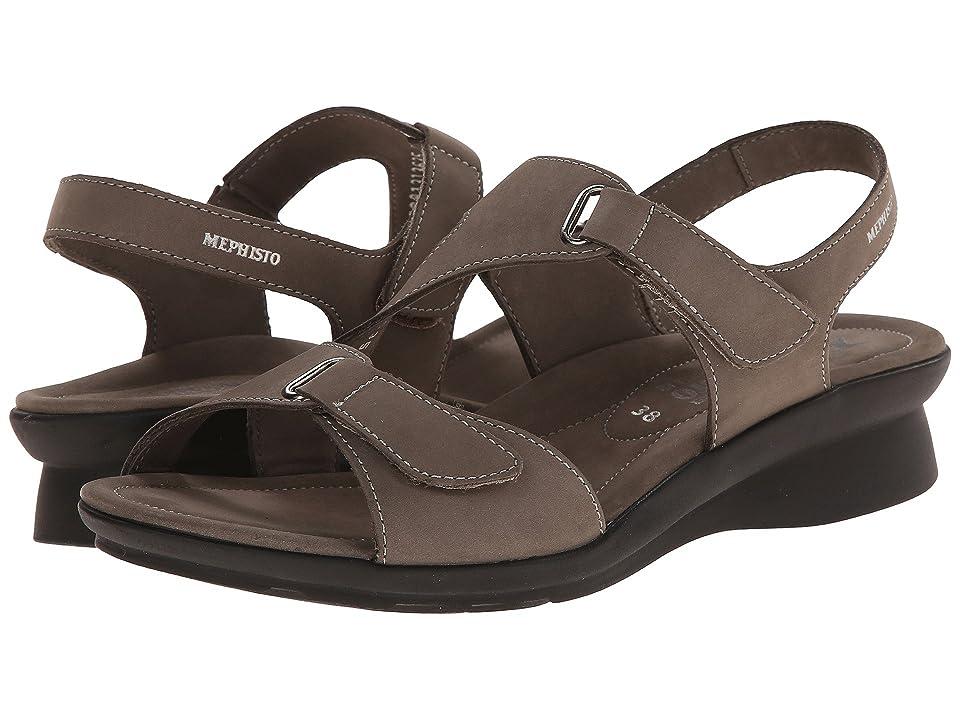 Mephisto Paris (Pewter Bucksoft) Women's Sandals