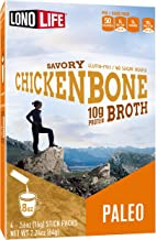 product image for LonoLife Chicken Bone Broth Powder with 10g Protein, Paleo and Keto Friendly, Stick Packs, 24 Count