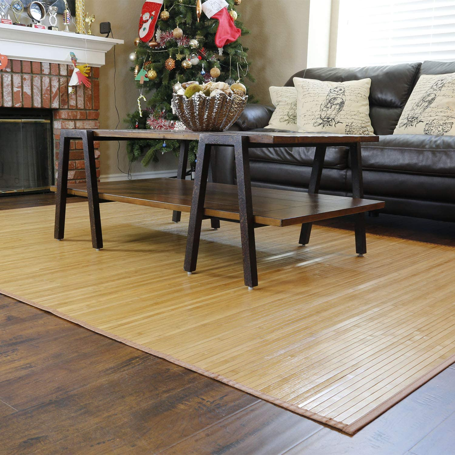 Home Aesthetics Natural Bamboo 5' 25% OFF X Floor 60