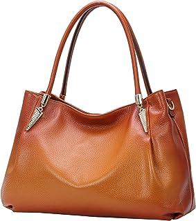 Heshe Women?s Leather Handbags Top Handle Totes Bags Shoulder Handbag Satchel Designer Purse Cross Body Bag for Lady