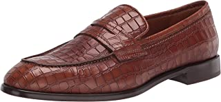 حذاء رجالي من Donald J Pliner ROBBIE-94 مطبوع عليه Penny Loafer