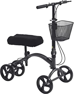 Drive Medical DV8 Aluminum Steerable Knee Walker Crutch Alternative