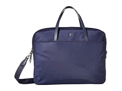 Kate Spade New York Taylor Universal Laptop Bag (Rich Navy) Computer Bags