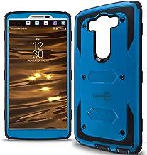 LG V10 Case, CoverON [Tank Series] Hybrid Hard Armor Protective Phone Case for LG V10 - Blue & Black