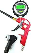 GrimmTools - Digital Universal Bicycle Tire Inflator for Presta and Schrader valves