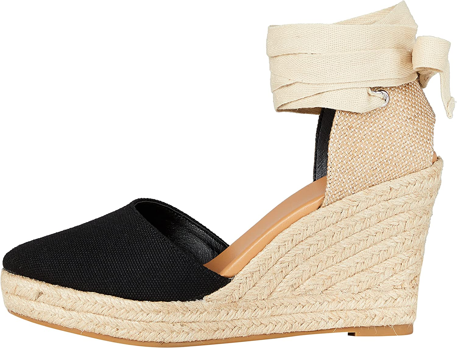 find. New Free Shipping Women's Wedge Close Toe Espadrille Sandal High order Canvas