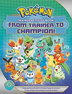 Pokémon Trainer Activity Book: From Trainer to Champion!