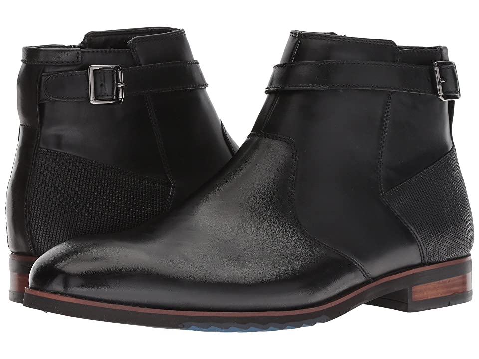Steve Madden Levant (Black Leather) Men