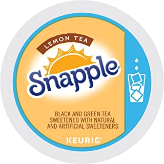 Keurig, Snapple, Lemon Iced Tea, K-Cup packs, 72 Count