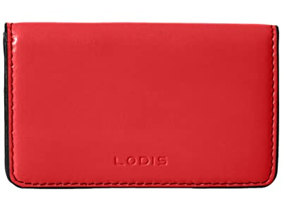 Lodis Accessories Audrey RFID Mini Card Case (Red RFID) Credit card Wallet