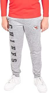 Ultra Game NFL Boys Extra Soft Poly Dri Fleece Jogger Sweatpants