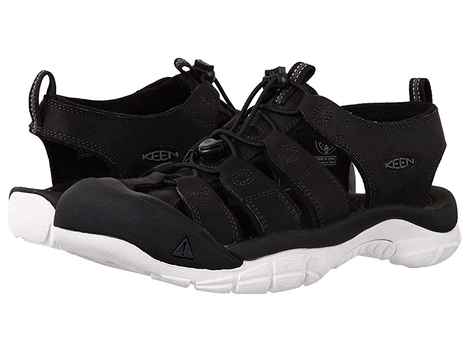 Keen Newport Atv (Black/Star White) Men