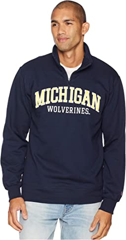 Michigan Wolverines Powerblend® 1/4 Zip