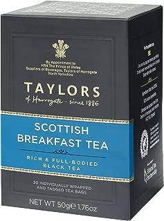 Taylors of Harrogate, Scottish Breakfast Tea, 20 Teabags