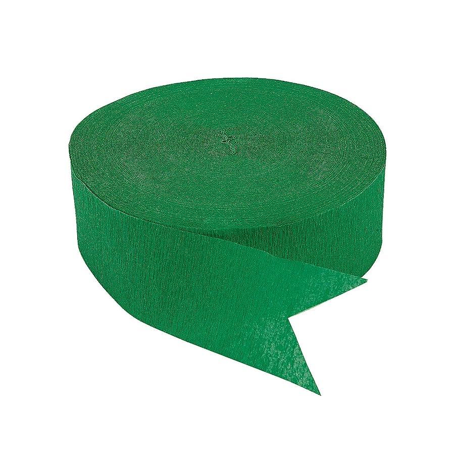 Fun Express Emerald Green Jumbo Streamers (500 ft