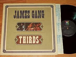 JAMES GANG Thirds LP original 1st press 1971 Joe Walsh EAGLES ABC ABCX-721 psych rock