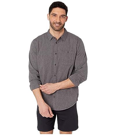Prana Jaffra Long Sleeve Shirt (Granite) Men