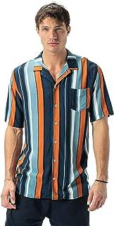 Zanerobe Men's Bel Air Stripe Ss Shirt