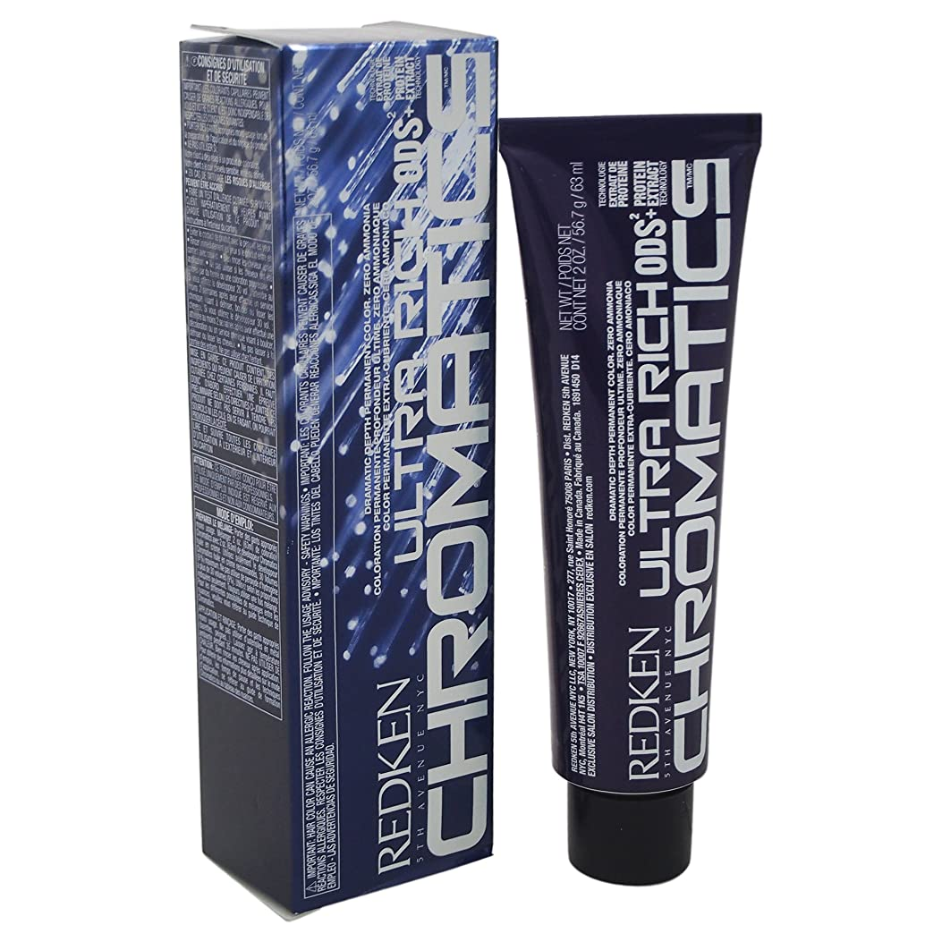 検査国勢調査車Redken 4NA Unisex Chromatics Ultra Rich Hair Color, Natural Ash, 2 Ounce by Redken