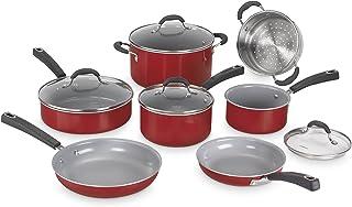 Cuisinart Advantage Ceramica XT Cookware Set, Medium, Red