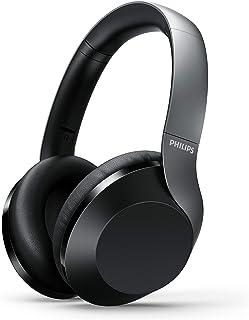 Philips bezprzewodowe słuchawki PH805BK/00 Bluetooth (Bluetooth, aktywna redukcja szumów, 30 godzin czasu pracy baterii, H...