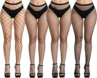 Plus Size Fishnet Stockings, Fishnet Tights Thigh High...