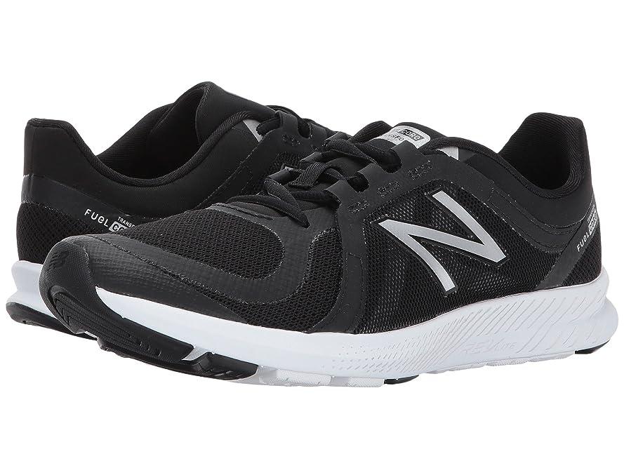 警戒血爆発物(ニューバランス) New Balance レディーストレーニング?競技用シューズ?靴 WX77v2 Black/Silver 9 (26cm) D - Wide