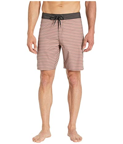 Brixton Barge Stripe Trunk (Cameo) Men