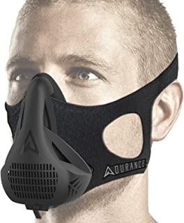 Adurance Training Workout Mask, 4 Breathing Oxygen High Altitude Training Mask Exercise Device
