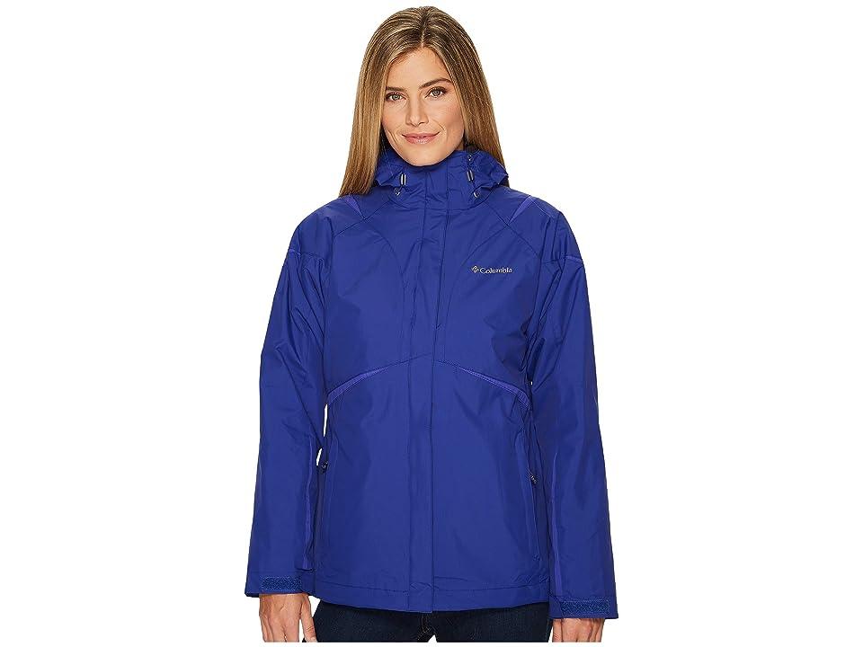 Columbia Blazing Star Interchange Jacket (Dynasty/Clematis Blue) Women