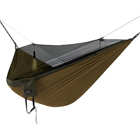 Beach V7079B Backyard Backpacking Travel Hiking ValueHall Camping Hammock with Mosquito Net Lightweight Double Hammock Parachute Nylon Hammock for Indoor,Outdoor Camping