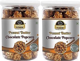 Popcorn Fusion Peanut Butter Chocolate Popcorn-Combo Pack (170g*2)-340g
