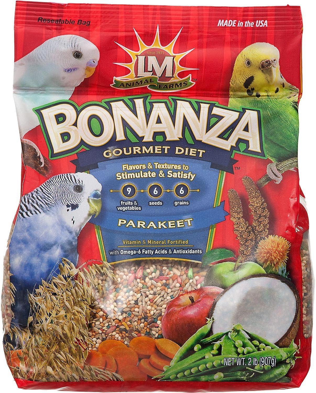 Bonanza Parakeet Food  2 Pounds  Part    2288