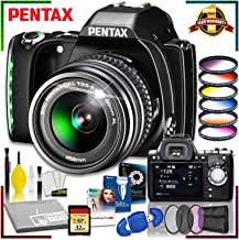 Pentax K-S1 DSLR Camera with 18-55mm Lens + Corel Editing Software Pack + 32 gb Memory Kit + Advanced Camera Lens Bundle + Camera Accessory Kit