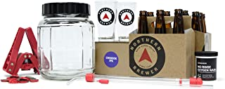 Northern Brewer - All Inclusive Gift Set 1 Gallon Homebrewing Starter Kit with Recipe (Chinook IPA)