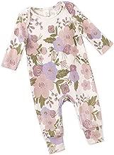 Tesa Babe Spring Summer Floral Romper for Newborns, Baby Girls & Toddlers, Multi