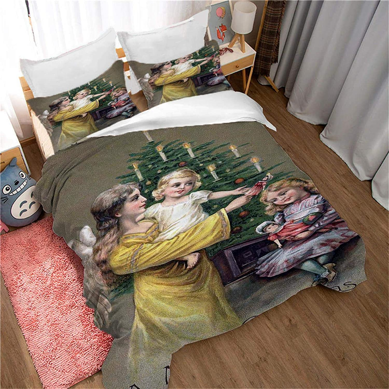 Regular dealer MENGBB Duvet Cover Set 3D characte beautiful painting Effect Oil Dealing full price reduction