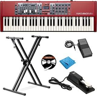 Nord Electro 6D 61-Key Stage Piano Bundle with Adjustable St
