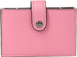 COACH - Color Block Accordion Card Case