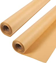 2-Pack Jumbo Brown Kraft Paper Roll for Packing, Crafts, Wrapping, Shipping - 30 x 1200 Inches