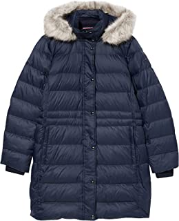 Tommy Hilfiger TH ESS Tyra Down Coat with Fur Chaqueta para Mujer