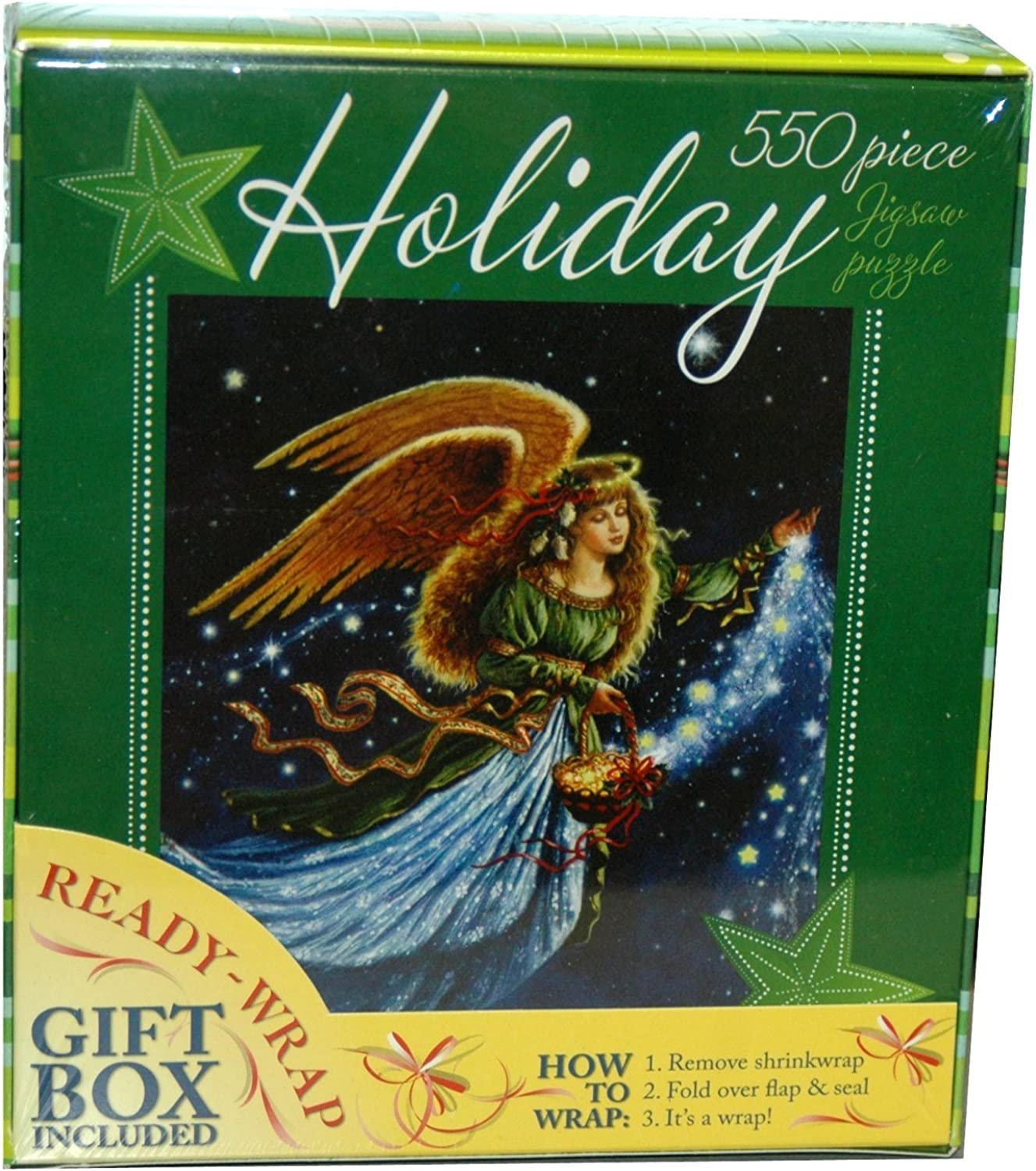 Holiday 550-Piece Jigsaw Puzzle Angel Star (12366-3) by Ceaco by Ceaco