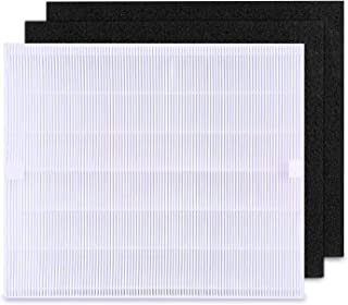 isinlive Replacement Filter for Coway AP-1512HH Air Purifiers 3304899 with 1 Hepa Filter and 2 Carbon Filters