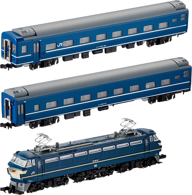gran selección y entrega rápida J.R. EF66 azul Train Set (Basic 3-Coche 3-Coche 3-Coche Set) (Model Train) (japan import)  toma