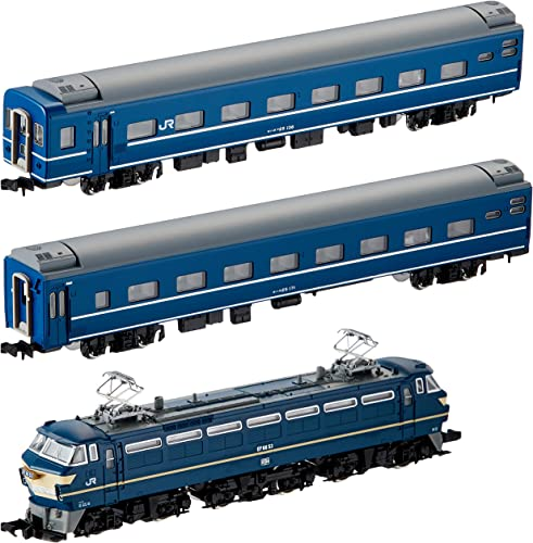 el más barato J.R. J.R. J.R. EF66 azul Train Set (Basic 3-Car Set) (Model Train) (japan import)  de moda