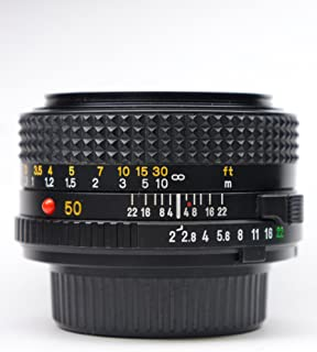 Minolta MD 50mm 1:2 Made In Japan Minolta Mount Lens