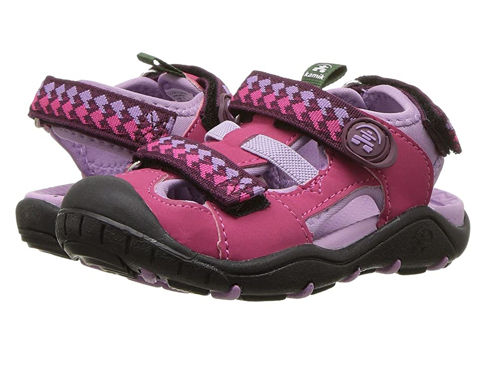 Kamik Kids Coralreef (Toddler/Little Kid/Big Kid) (Rose) Girls Shoes